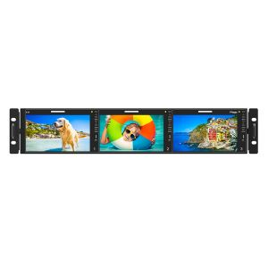 R-5T  12G-SDI Supported 3 x 5.5'' LCD Full HD Screen
