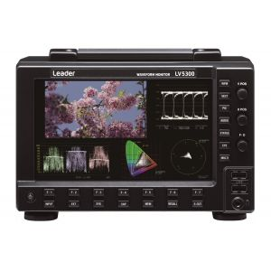 Leader LV5300 - WAVEFORM MONITOR-With Eye Pattern-12G 4K 3G