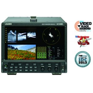 LEADER LV5490 4K MULTI FOMAT WAVEFORM MONITOR/GENERATOR