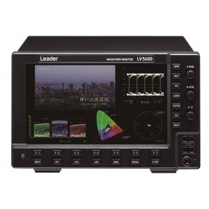 LV5600 - Hybrid SDI/IP 12G-4K-3G-HD-WAVEFORM MONITOR