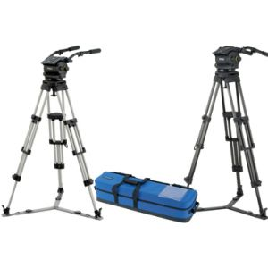 VB250-AP2M Vision 250, Two-Stage Aluminium Pozi-Loc Tripod, Spread-Loc mid-level spreader, Soft Case